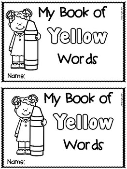 Yellow Color Word