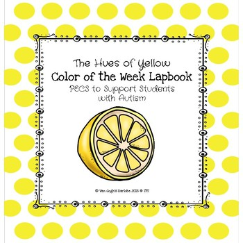 Yellow Color of the Week Lapbook