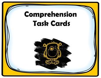 Kindergarten Comprehension Task Cards Aligned to American