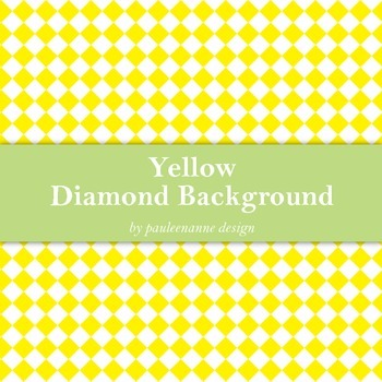 Yellow Diamond Background