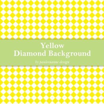 Yellow Diamond Background