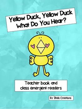 Yellow Duck What Do You Hear - Teacher and Class Book