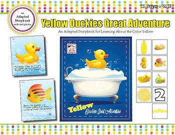 Yellow Duckies Great Adventure - Adapted Book