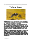 Yellow Fever - informational article lesson facts questions true/false Zika