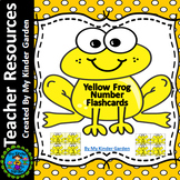 Yellow Frog Math Number Flashcards 0-100
