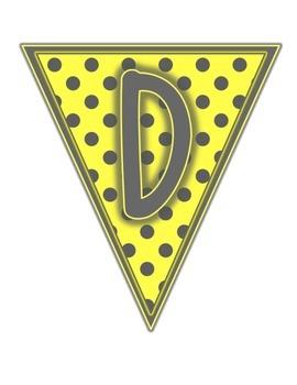 Yellow & Gray: Daily 5 Set