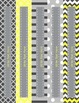 Yellow & Gray: Editable Binder Covers & Spines