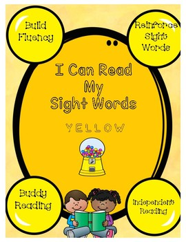Yellow Gumball Sight Words in Sentences