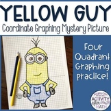 Yellow Guy Coordinate Graphing Picture