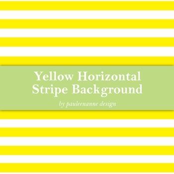Yellow Horizontal Stripe Background