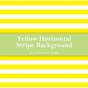 Yellow Horizontal Stripe Background
