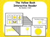 Yellow Interactive Color Sight Word Reader; Kindergarten; Special Ed.; Autism
