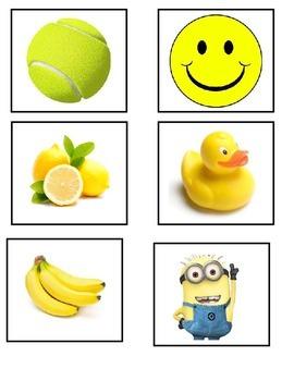 Yellow Items Flashcards