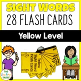 New Zealand Sight Words Yellow Level Flash Cards