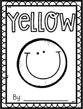 Yellow Math and Literacy Packet Print and Go!