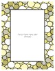Yellow Pastel Poster Frames * Create Your Own Dream Classroom / Daycare *