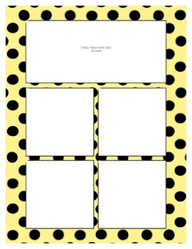 Yellow Pastel Sorting Mat Frames * Create Your Own Dream Classroom Daycare