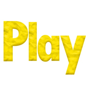 Yellow Playdough Look Alphabet Clip Art for Bulletin Boards and More