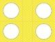 Yellow Polka Dots Classroom Labels and Tags