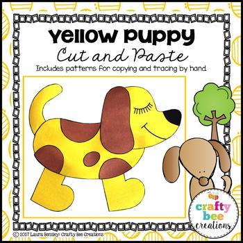 Yellow Puppy Craft