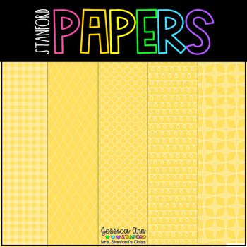 Digital Papers- Yellow Submarine!{25 backgrounds for personal & commercial use}