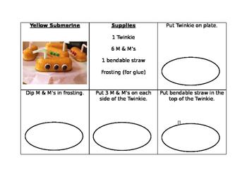 Yellow Submarine Fook Prep Task Analysis