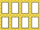 Yellow Tile Classroom Labels and Tags
