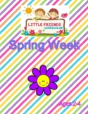 Preschool Lesson Plan Ideas for Spring Theme with Daily Preschool Activities