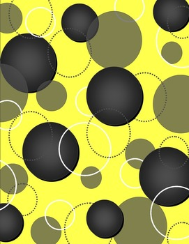 Yellow Zingy Dot Supply Labels