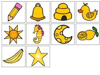 Yellow-an interactive color book