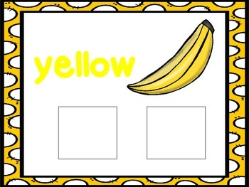 Yellow-an interactive color book