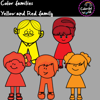 Yellow and Red Family