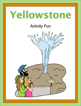 Yellowstone Activity Fun