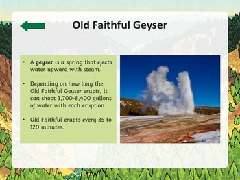 Yellowstone National Park PowerPoint
