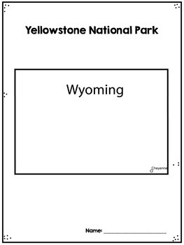 Yellowstone National Park Research Project