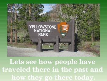 Yellowstone Tourism History