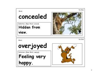 Yen-Shen Vocabulary Cards