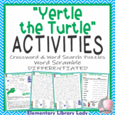 Yertle the Turtle Activities Dr. Seuss Crossword Puzzle & Word Search