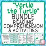 Yertle the Turtle Dr. Seuss Activities BUNDLE Comprehension Study