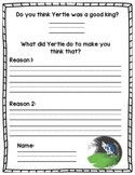 Yertle the Turtle Opinion Writing