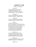 Yertle the Turtle Play Script