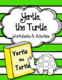 Yertle the Turtle. Worksheets and Activities.  Dr. Seuss. Read Across America.