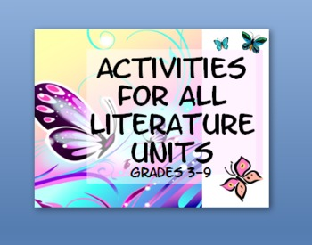Yes! Activities for All Literature Units!