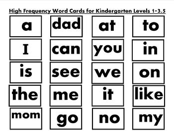 Yes I Am ! : KL 1-5 High Frequency Word Games