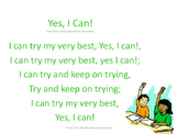 Yes, I Can! song