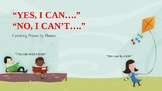 Yes, I Can. No, I Can't. {PowerPoint Lesson}