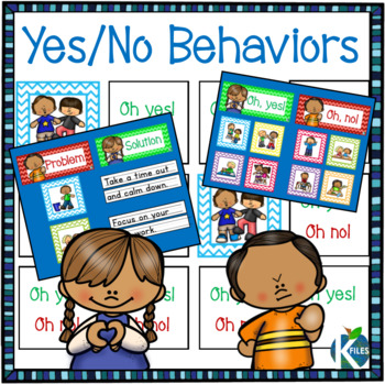 Yes/No Behaviors for Back to School
