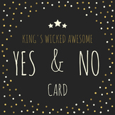 Yes & No Card
