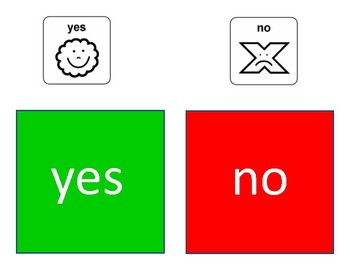 Yes No Cards