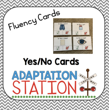 Yes/No Clip Cards